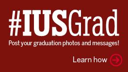#IUSGrad Social Media Page